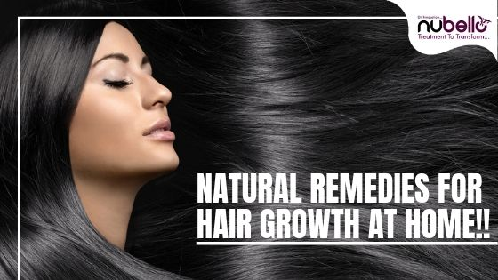Natural remedies for hair growth at home!!