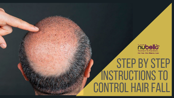 control hair fall by following simple instructions
