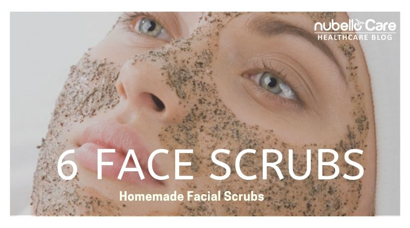 6 homemade face scrubs