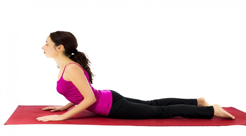 Cobra Pose for Yoga From Sun Salutation to lose weight