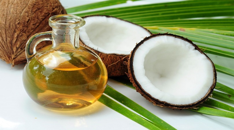 Coconut Oil and Egg Hair Mask for healthy hair