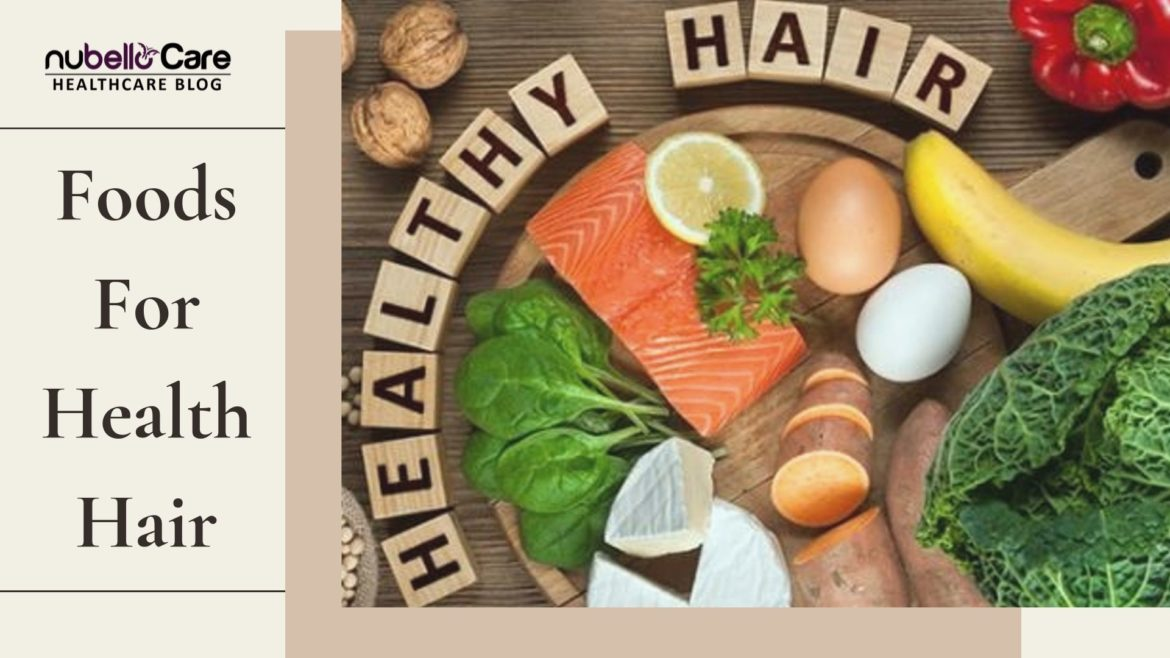Secrete food for hair growth & thickness