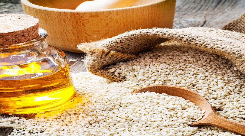 Sesame Seed And Egg Mask For Hair Growth