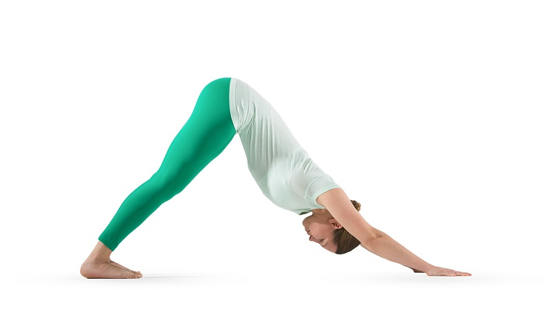 downward dog yoga pose for weight loss