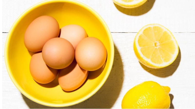 lemon egg hair mask for oily hair