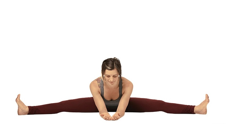 wide angle seated bend yoga asanas for weight loss