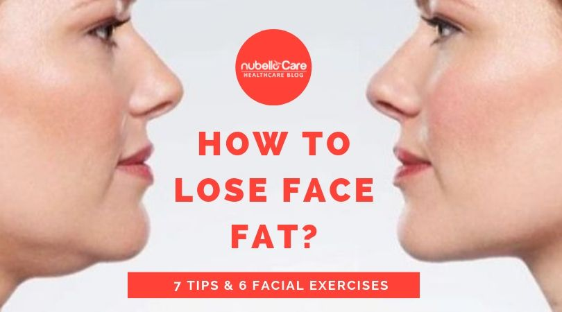 How to lose face fat - facial exercises