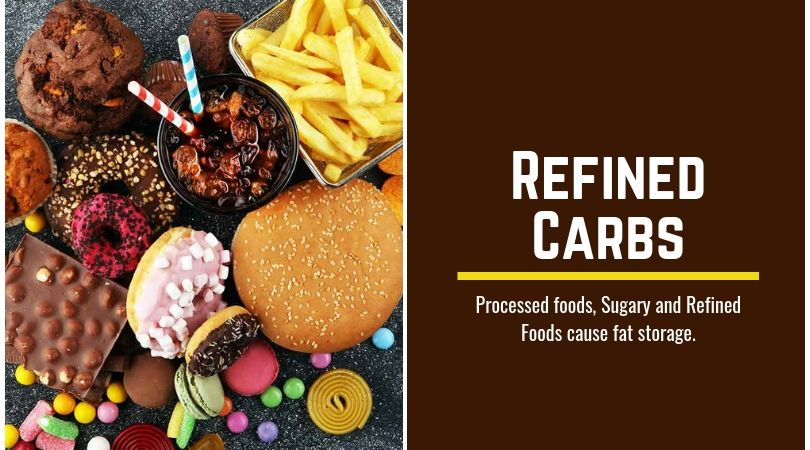 Refined carbs harmful for face