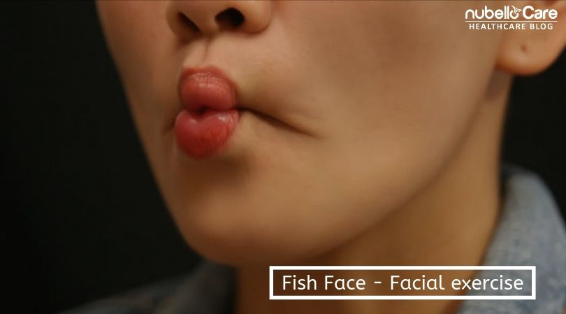 fish face facial exercise for face fat loss