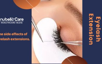 The side effects of eyelash extensions.