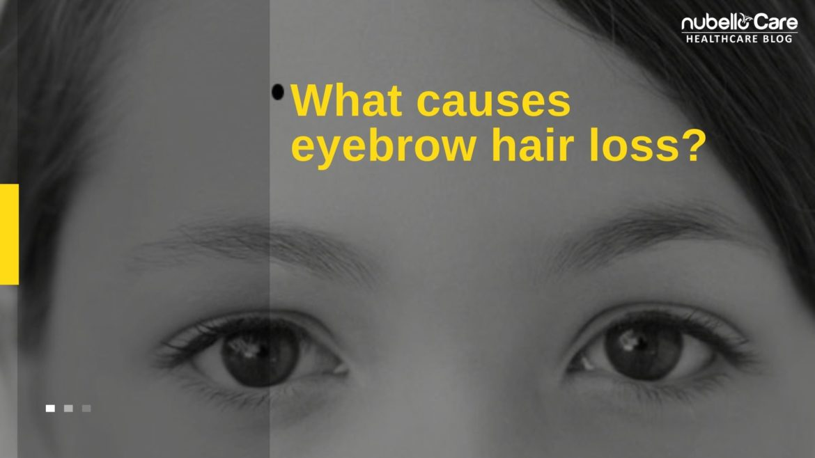 What causes eyebrow hair loss?
