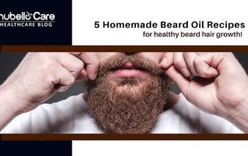Homemade beard oil recipes for beard hair growth!