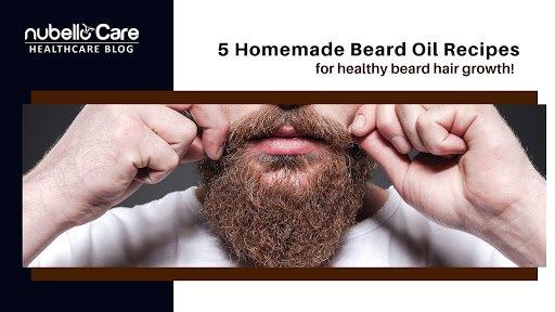 beard oil recipes for beard hair growth