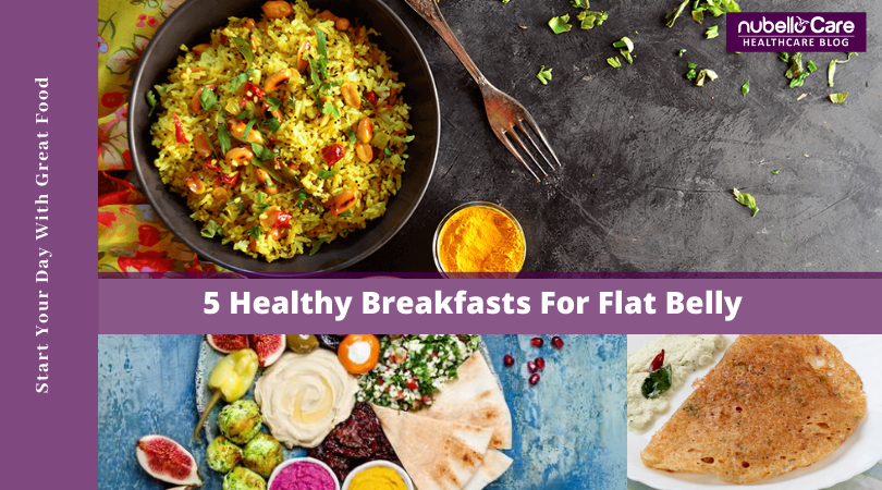 Breakfasts For Flat Belly and Weight Loss