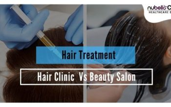 Salon Hair Treatment vs Clinic Hair Treatment