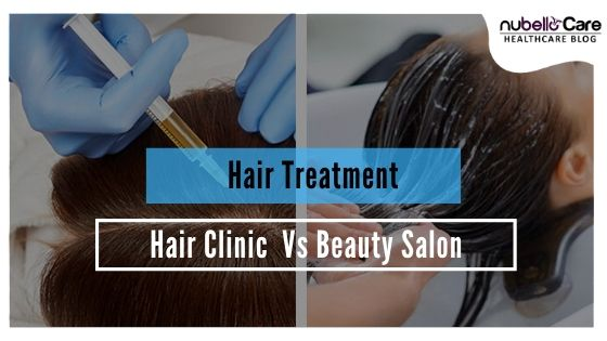 Salon Hair Treatment vs Clinic Hair Treatment