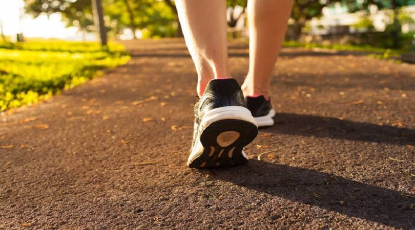 burn belly fat with walking